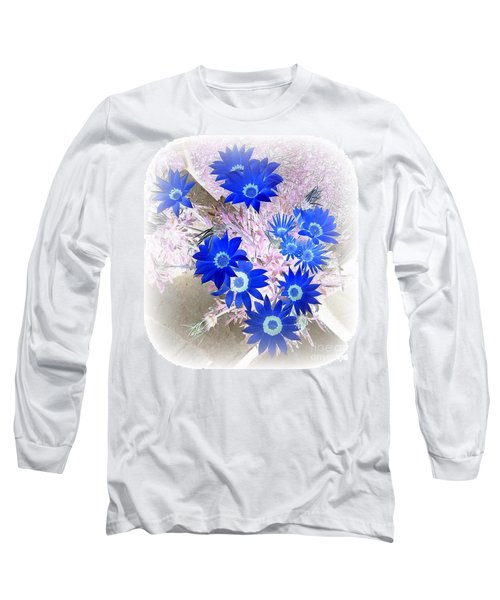 Long Sleeve T-Shirt featuring the photograph Wild Blue by Kenneth Clarke