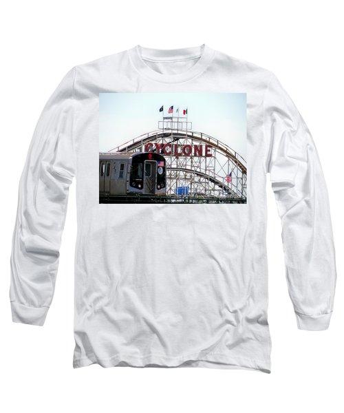Long Sleeve T-Shirt featuring the photograph Wild Rides by Ed Weidman