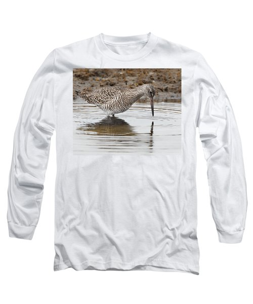 Willet Long Sleeve T-Shirt by Bill Wakeley