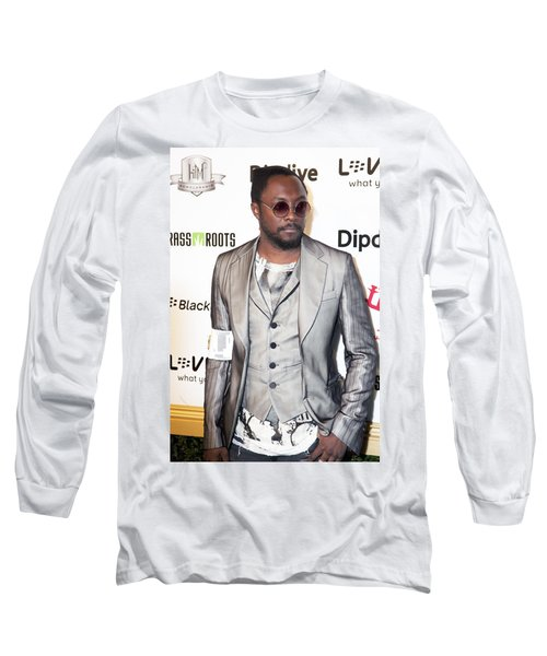 Will.i.am Long Sleeve T-Shirt