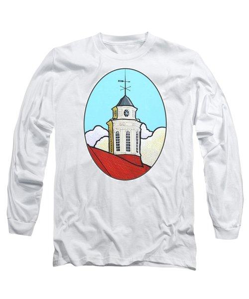 Wilson Hall Cupola - Jmu Long Sleeve T-Shirt by Jim Harris
