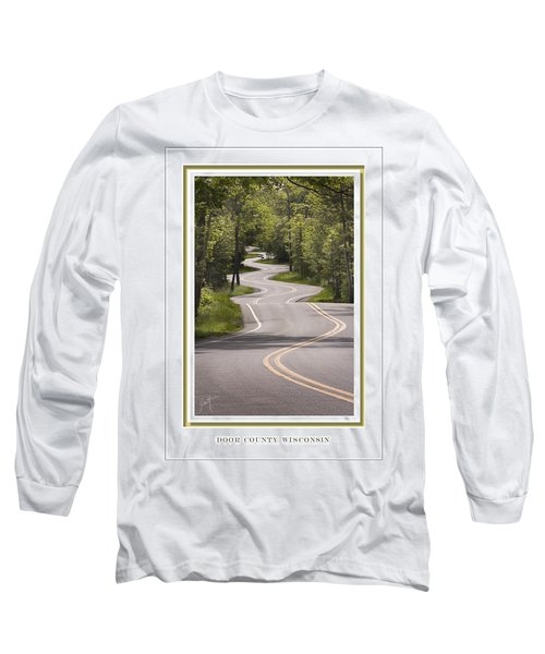 Winding Road Door County Long Sleeve T-Shirt