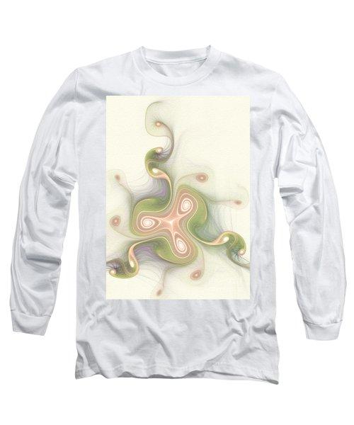 Long Sleeve T-Shirt featuring the digital art Winding by Svetlana Nikolova
