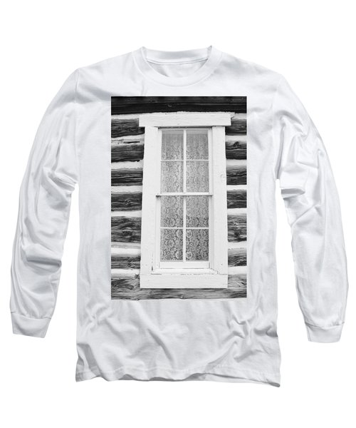 Long Sleeve T-Shirt featuring the photograph Window To The Old West by Diane Alexander