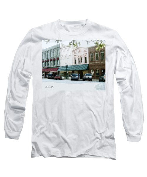 Windows On The Square Long Sleeve T-Shirt