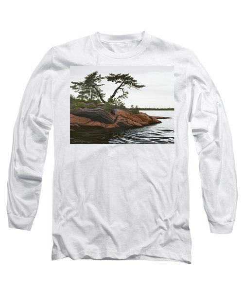 Windswept Long Sleeve T-Shirt by Kenneth M  Kirsch