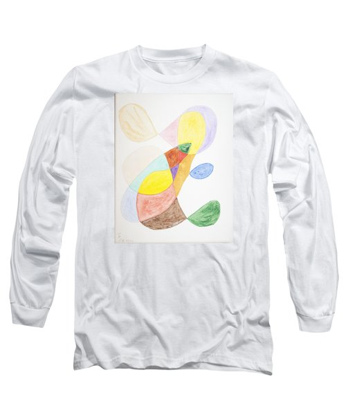 Long Sleeve T-Shirt featuring the painting Windy  by Stormm Bradshaw