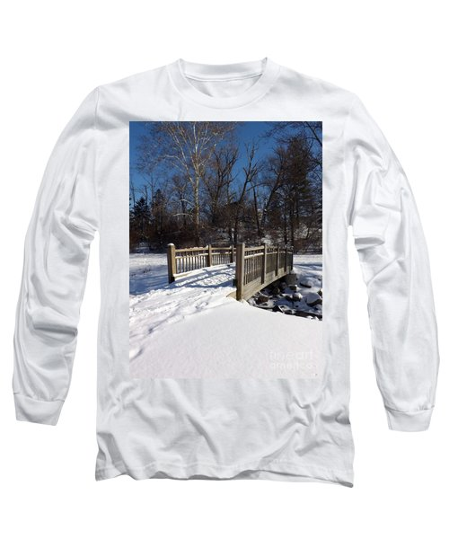 Winter At Creekside Long Sleeve T-Shirt