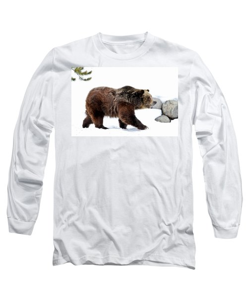 Winter Bear Walk Long Sleeve T-Shirt