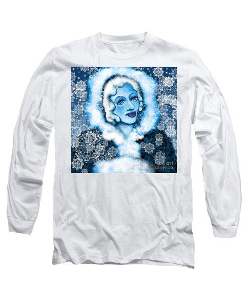 Winter Blues Long Sleeve T-Shirt by Carol Jacobs