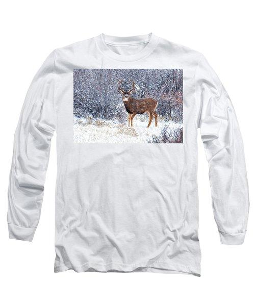 Winter Buck Long Sleeve T-Shirt