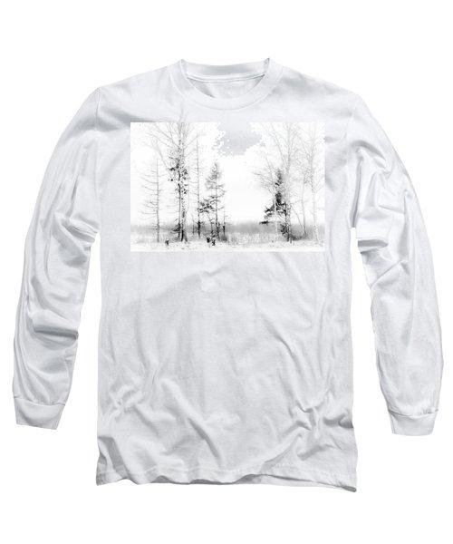 Winter Drawing Long Sleeve T-Shirt