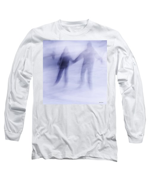 Winter Illusions On Ice - Series 1 Long Sleeve T-Shirt by Steven Milner