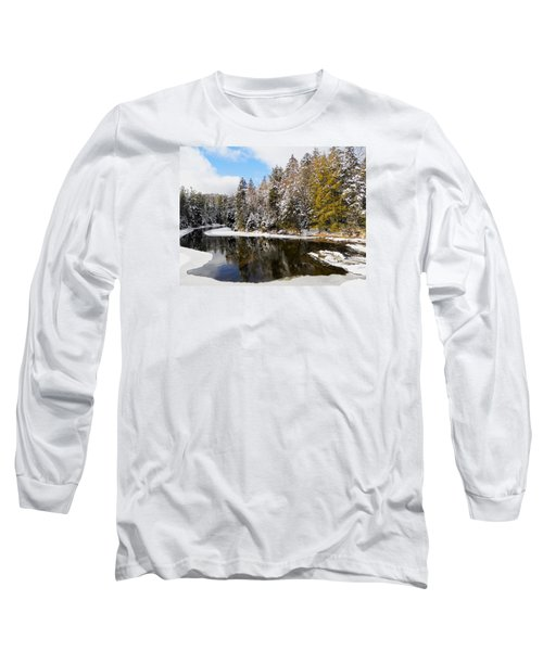 Long Sleeve T-Shirt featuring the photograph Winter Impressions ... by Juergen Weiss