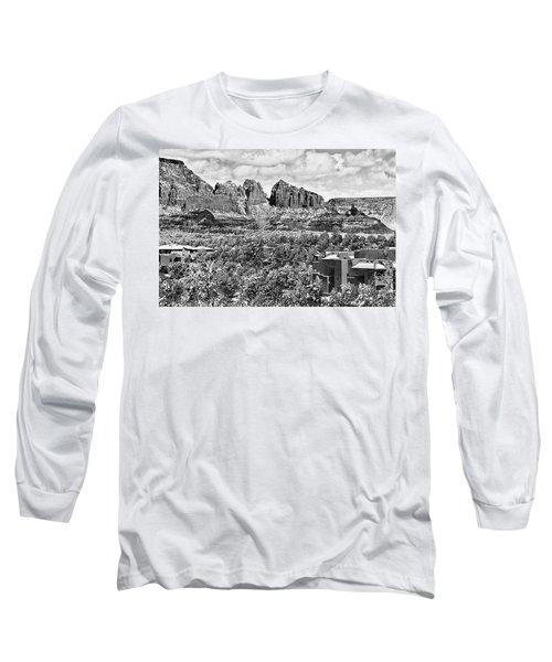 Winter In Sedona Arizona Long Sleeve T-Shirt