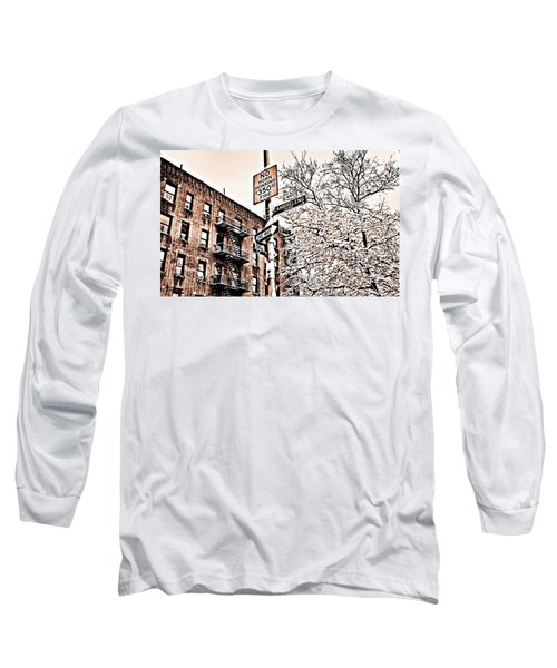 Winter In The Bronx Long Sleeve T-Shirt