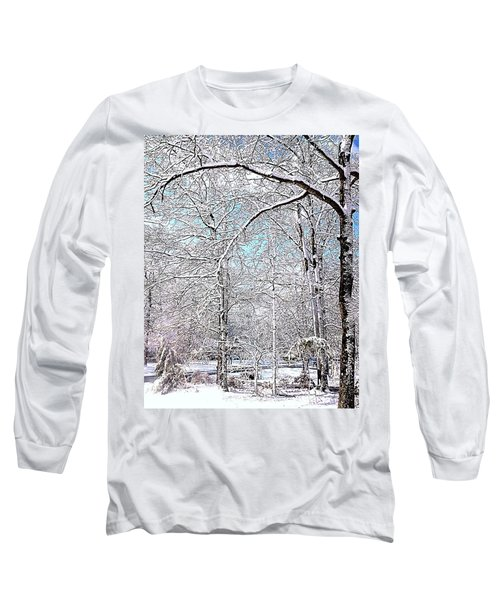 Winter On A Spring Day Long Sleeve T-Shirt