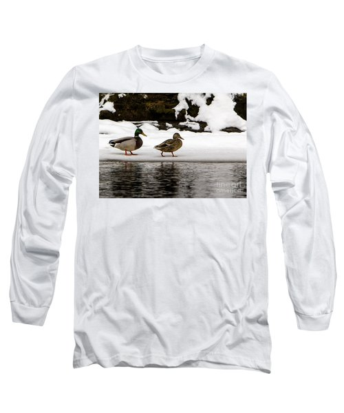 Winter Stroll Long Sleeve T-Shirt
