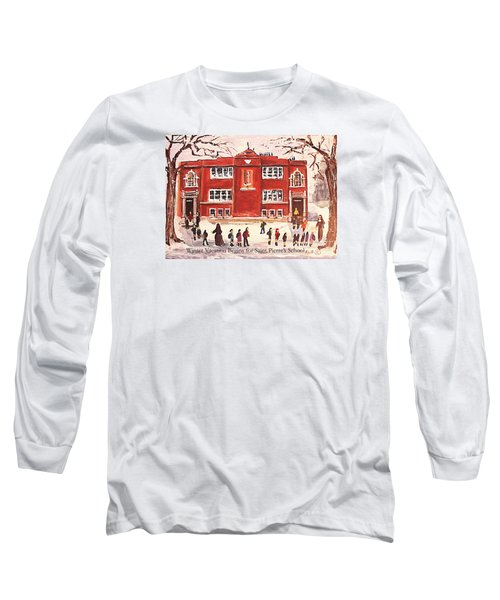 Winter Vacation Begins For Saint Pierre's School Long Sleeve T-Shirt