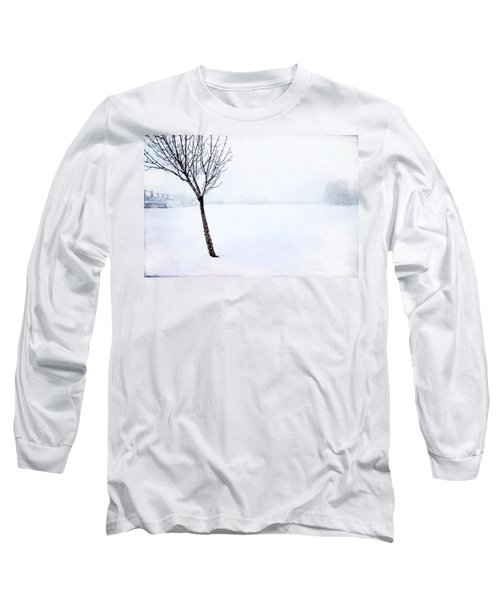 Winter Whiteout Long Sleeve T-Shirt