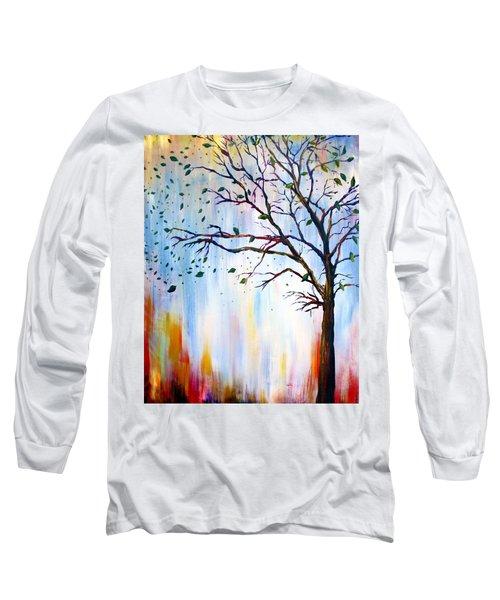Winter Windstorm Long Sleeve T-Shirt