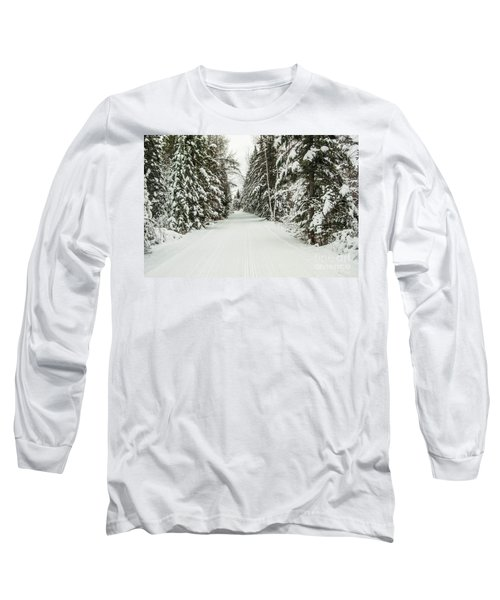 Winter Wonder Land Long Sleeve T-Shirt by Patrick Shupert