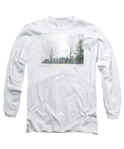 Winter Wonderland Usa Long Sleeve T-Shirt
