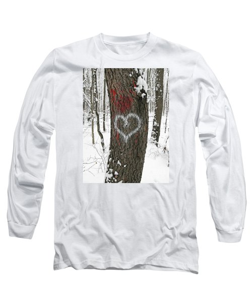 Winter Woods Romance Long Sleeve T-Shirt
