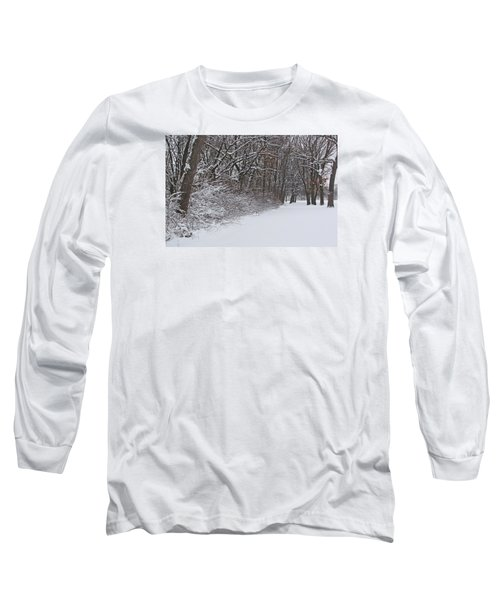 Winters Delight 2 Long Sleeve T-Shirt by Cedric Hampton