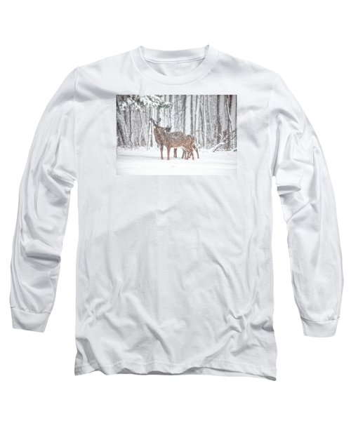 Winters Love Long Sleeve T-Shirt by Karol Livote