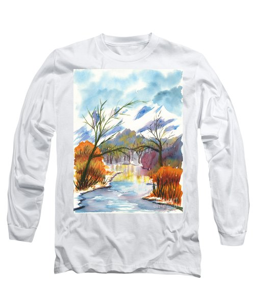 Wintry Reflections Long Sleeve T-Shirt