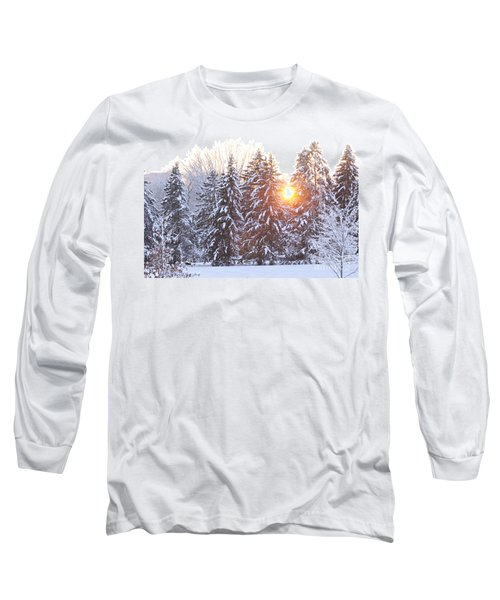 Wintry Sunset Long Sleeve T-Shirt