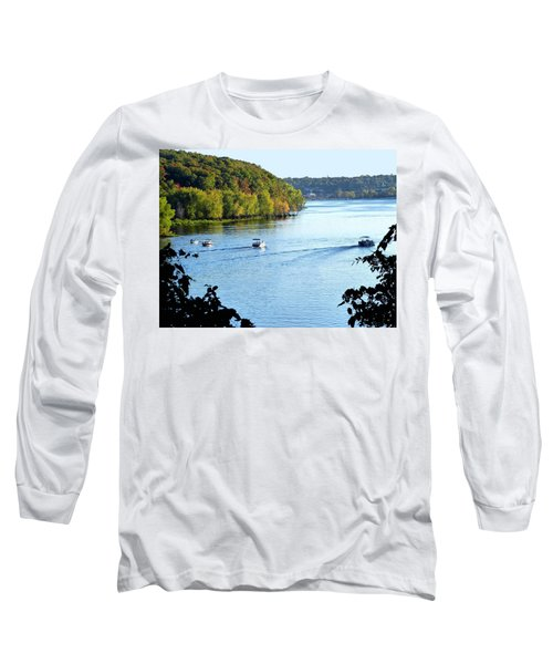 Wisconsin And Minnesota Long Sleeve T-Shirt