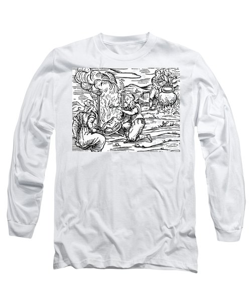 Witches Roasting And Boiling Infants Long Sleeve T-Shirt