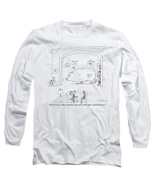 Woman To Couple In Living Room Long Sleeve T-Shirt