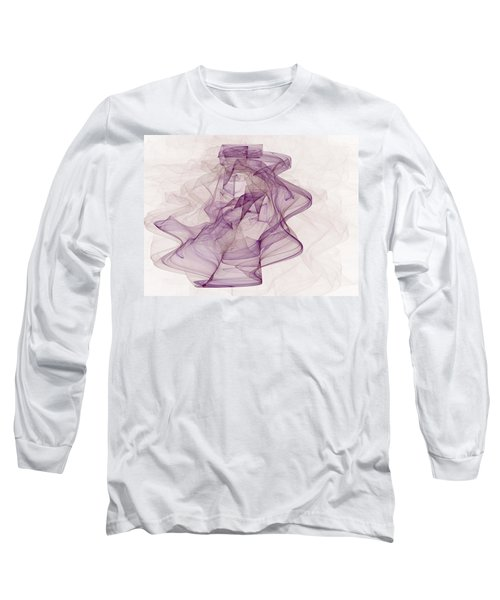 Woman With Hat Long Sleeve T-Shirt