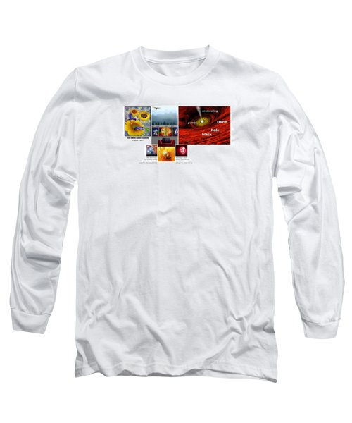 Womb With A View Long Sleeve T-Shirt by Peter Hedding