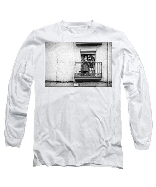 Women In Balcony Long Sleeve T-Shirt