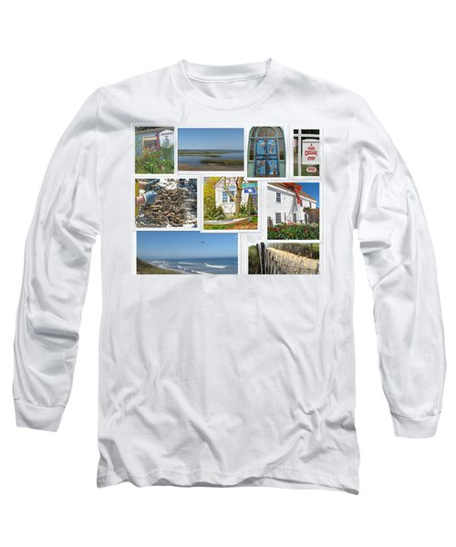 Wonderful Wellfleet Long Sleeve T-Shirt by Barbara McDevitt