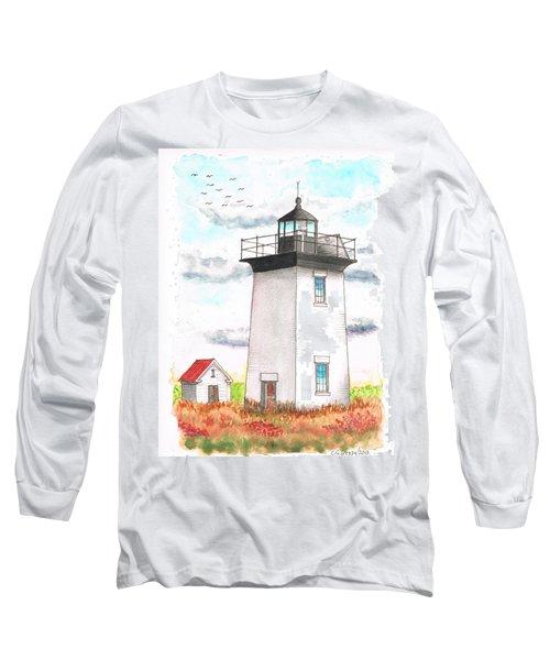 Wood End Lighthouse - Massachusetts Long Sleeve T-Shirt