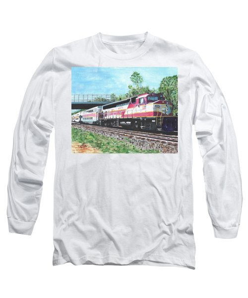 Worcester Bound T Train Long Sleeve T-Shirt