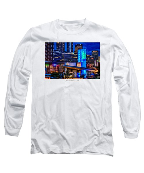 World Of Coca Cola Poster Long Sleeve T-Shirt