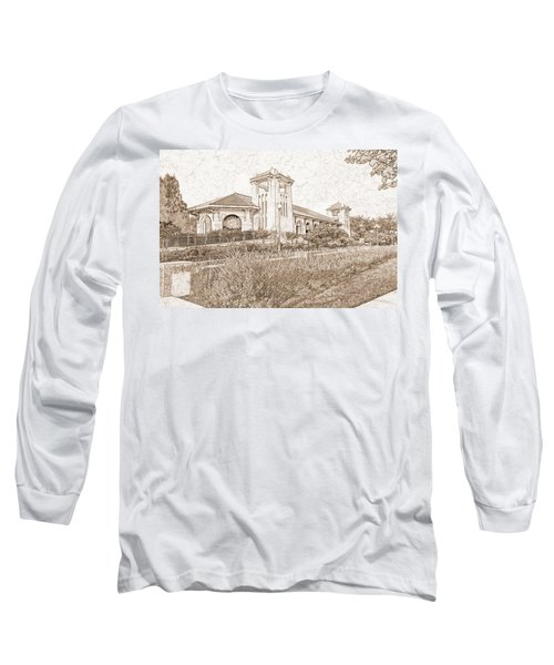 World's Fair Pavilion At Forest Park St Louis Long Sleeve T-Shirt by Greg Kluempers