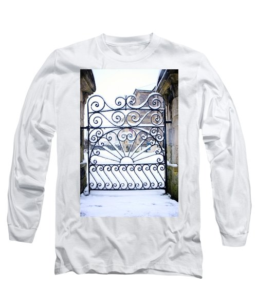 Wrought Iron Snow Long Sleeve T-Shirt