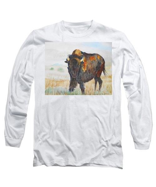 Wyoming - King Of The Prairie Long Sleeve T-Shirt