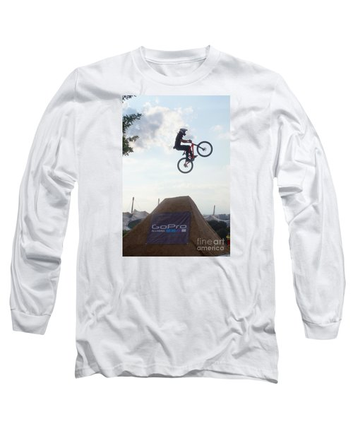 Long Sleeve T-Shirt featuring the photograph X Games Munich 4 by Rudi Prott