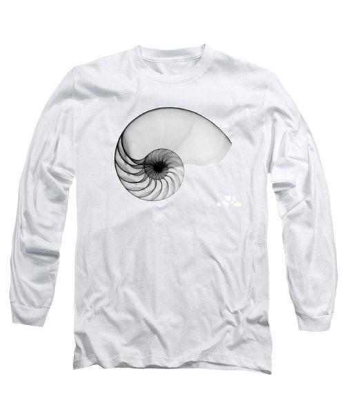 X-ray Of Nautilus Long Sleeve T-Shirt