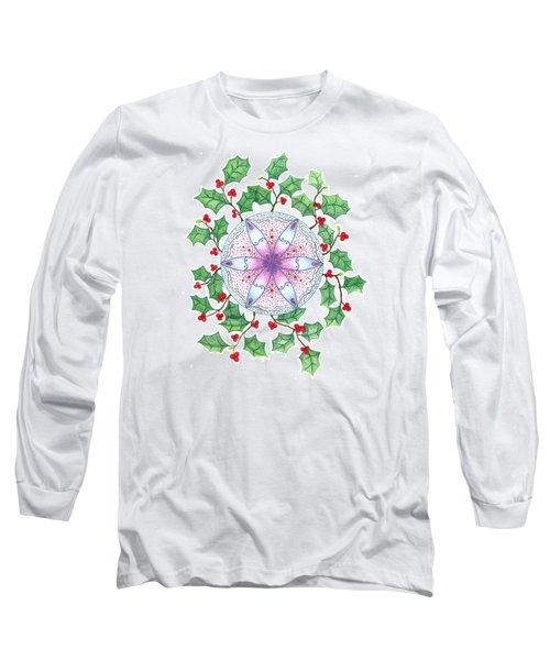 X'mas Wreath Long Sleeve T-Shirt