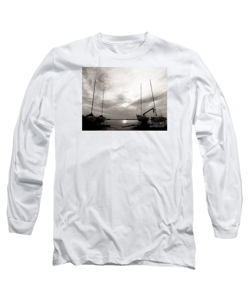 Cirrus Effect Long Sleeve T-Shirt by Amar Sheow