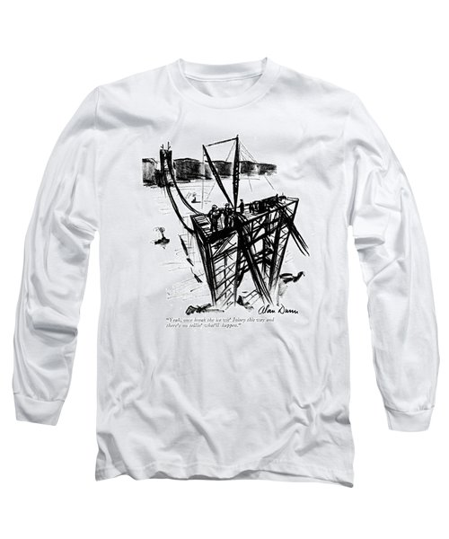 Yeah, Once Break The Ice Wit' Joisey This Way Long Sleeve T-Shirt